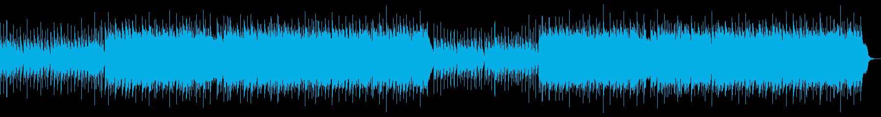 オルゴールの癒しヒーリングミュージックの再生済みの波形