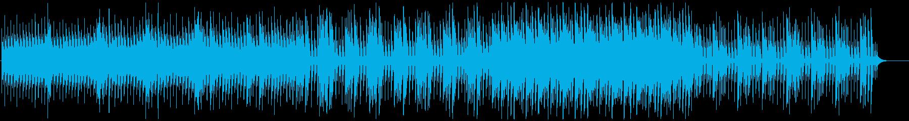 明るい/4つ打ち/ピアノの感動系ポップスの再生済みの波形