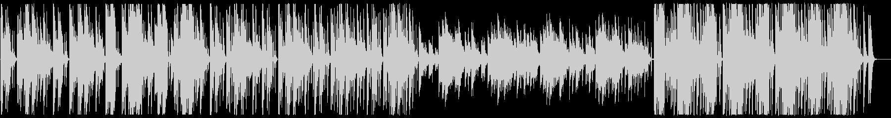 神秘的なオリエンタルBGMの未再生の波形