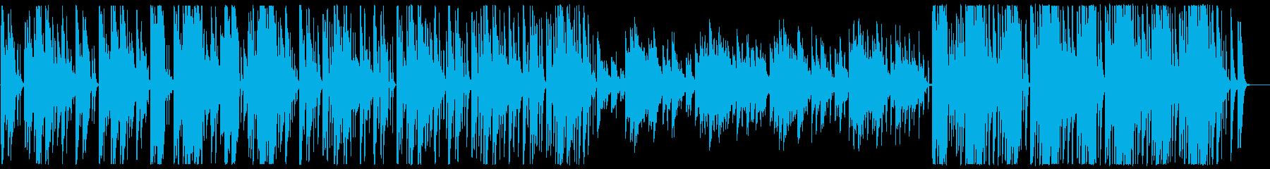 神秘的なオリエンタルBGMの再生済みの波形