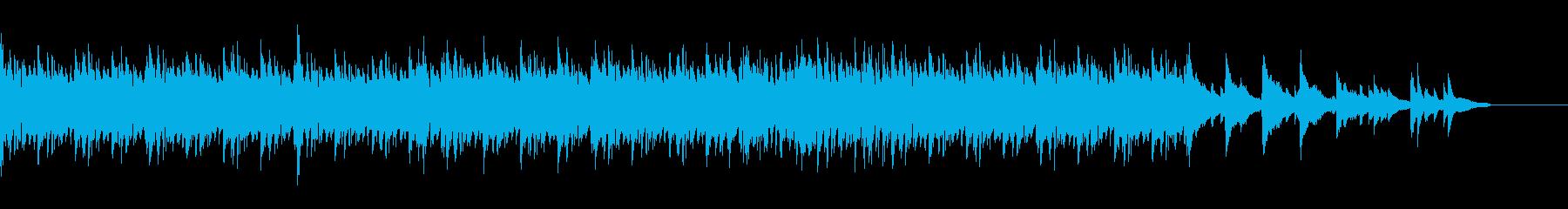 ジャズテイストで大人的、都会的の再生済みの波形