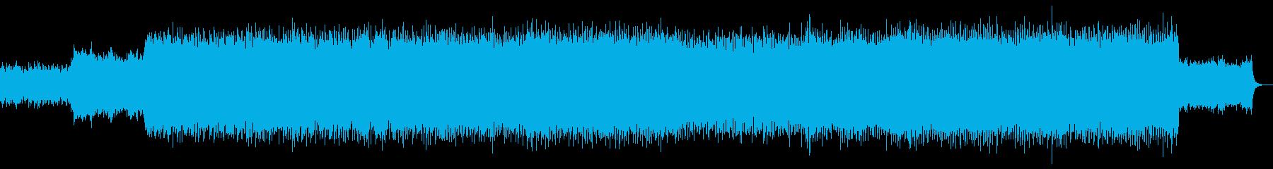 爽やかで勢いのあるギターポップロックの再生済みの波形