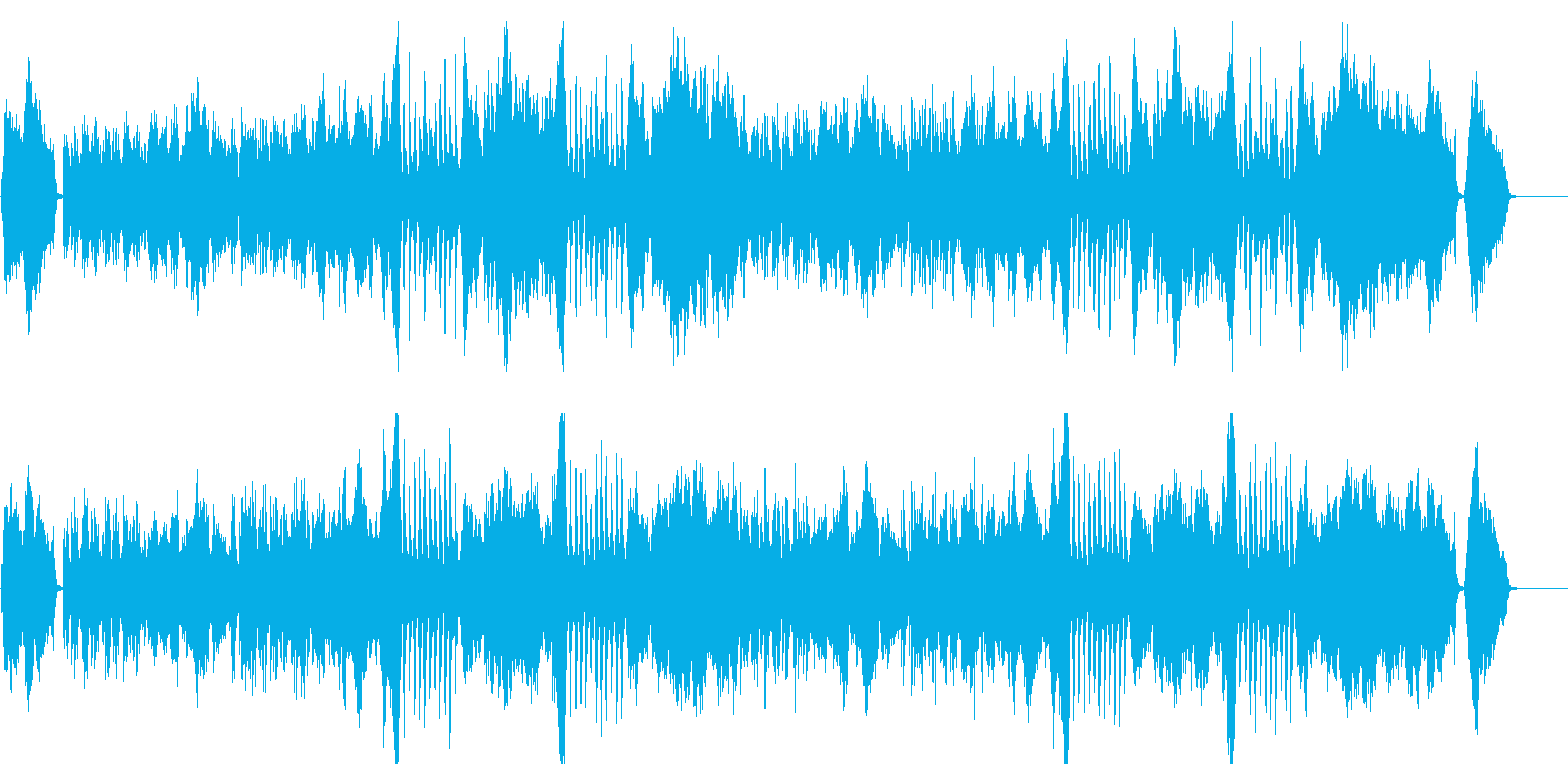 Orchestra Image of a fashionable city's reproduced waveform