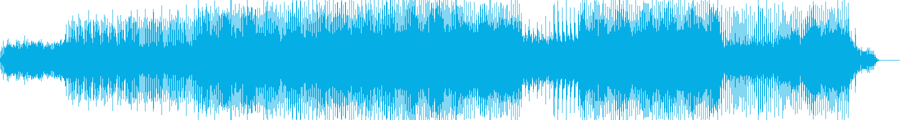 キラキラコミカルなゲーム系ミュージックの再生済みの波形
