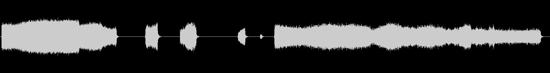 高圧エアホース:可変ミディアム、シ...の未再生の波形