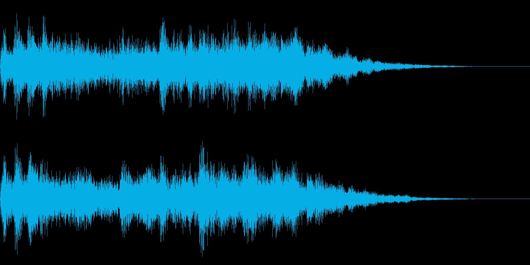 ファンファーレ ゲームクリア 達成の再生済みの波形