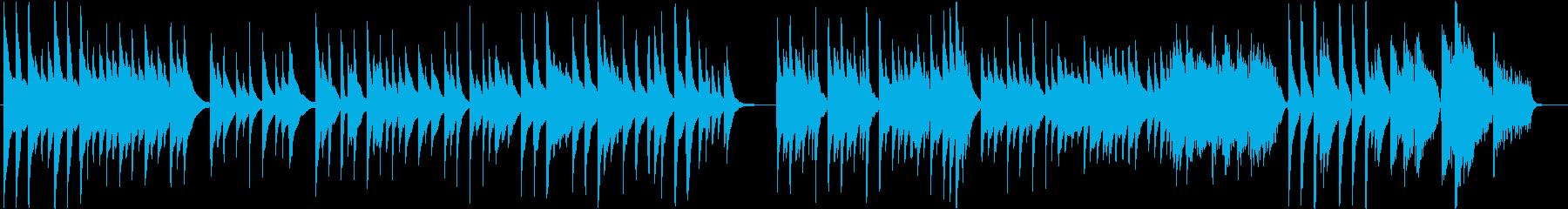 箏(琴)ソロ「さくらさくら」後半変奏付きの再生済みの波形