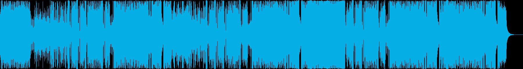 【メロ抜】明るく少し間抜けなテクノポップの再生済みの波形