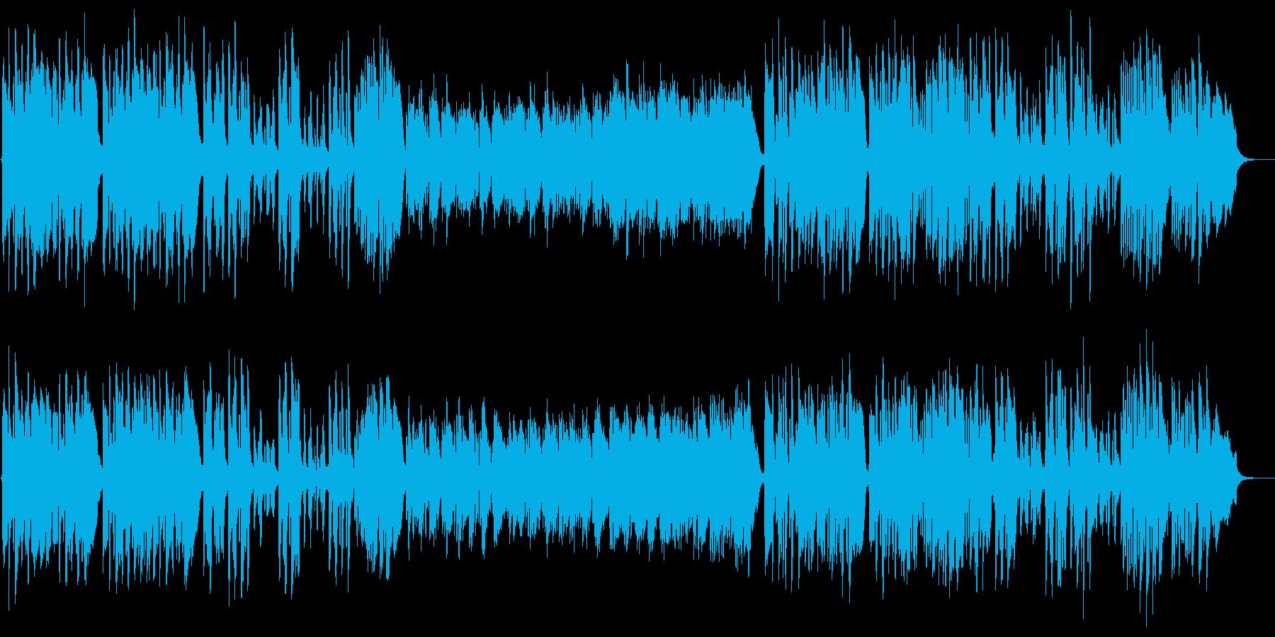 スキップしたくなるクラリネット曲の再生済みの波形