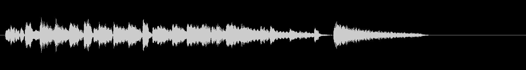 テーマ1A:バイブス、ベース、ピアノの未再生の波形