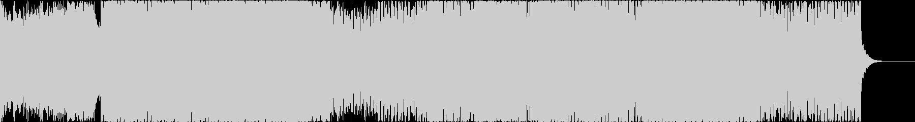 気持ちが高まるスタイリッシュなEDMの未再生の波形