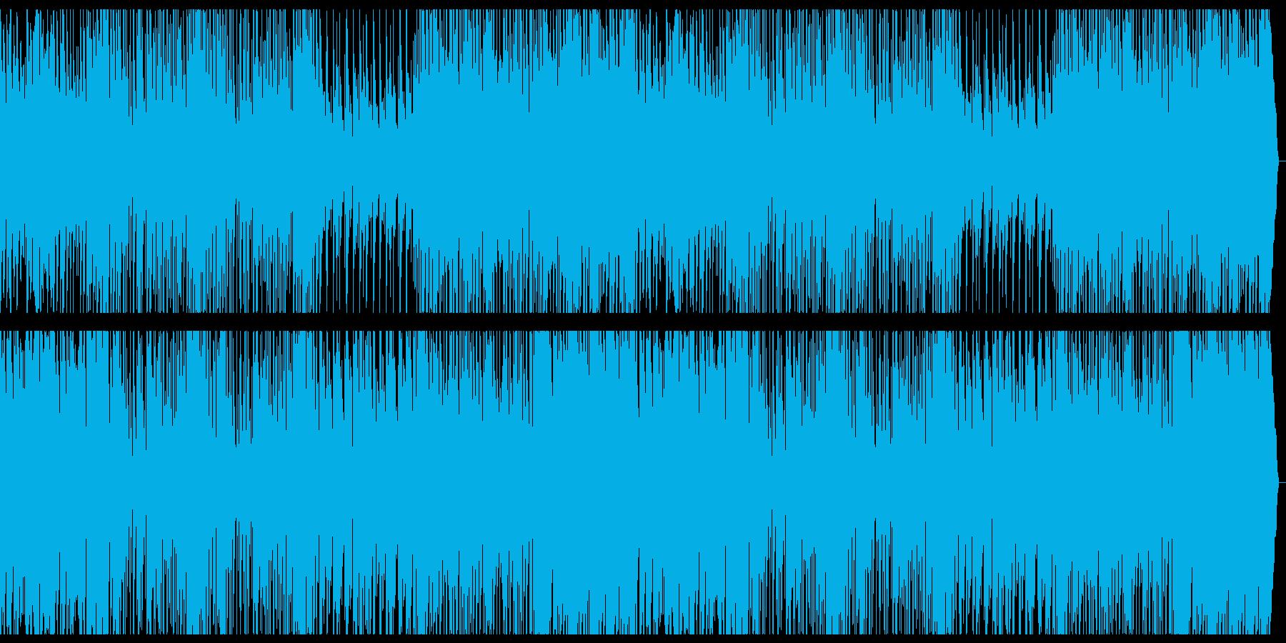 楽しい祭囃子の再生済みの波形