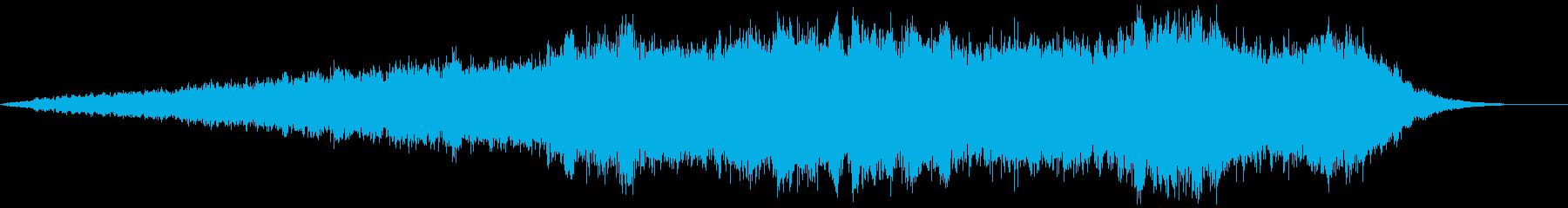 壮大なアンビエント楽曲です。の再生済みの波形