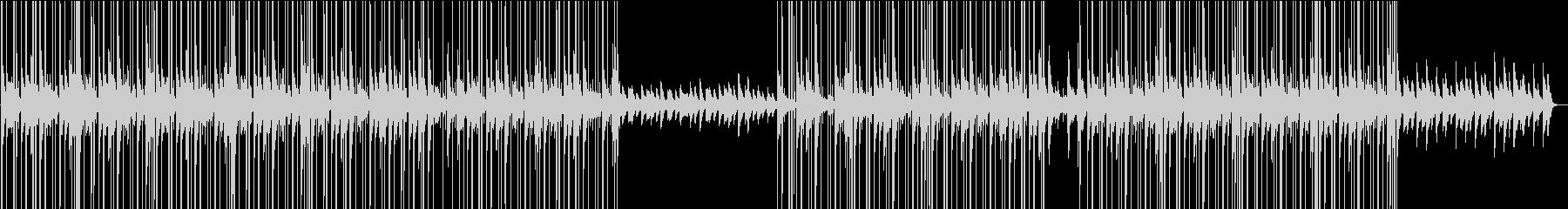 ローファイ・おしゃれなチルピアノBGMの未再生の波形