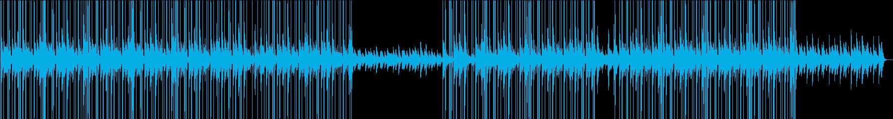 ローファイ・おしゃれなチルピアノBGMの再生済みの波形