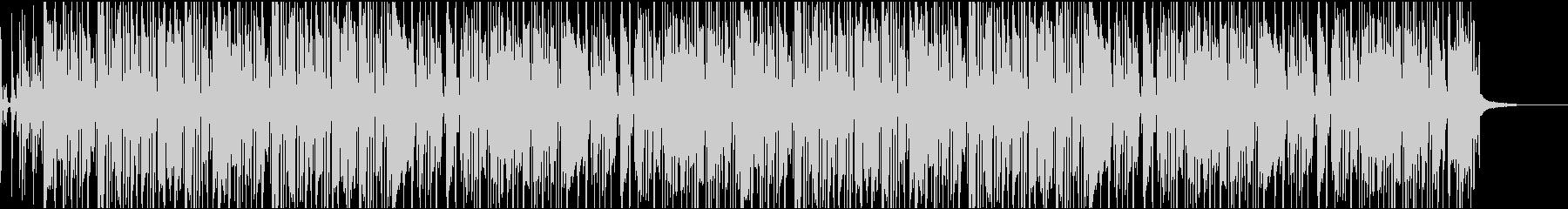 飄々としたエレピのファンクの未再生の波形
