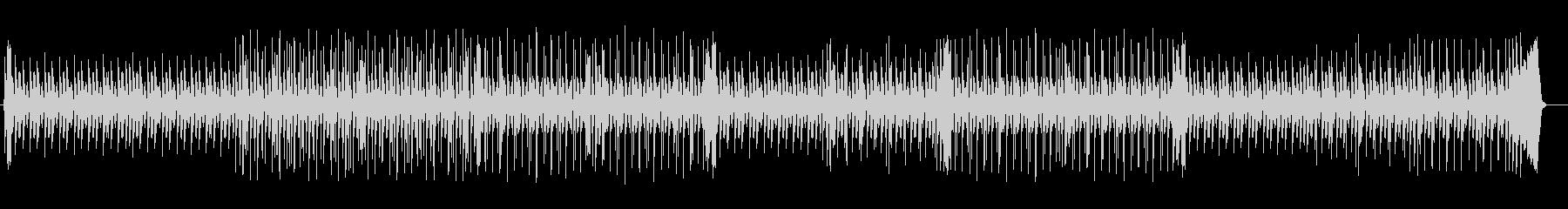 洗練されたドラムによるポップスの未再生の波形
