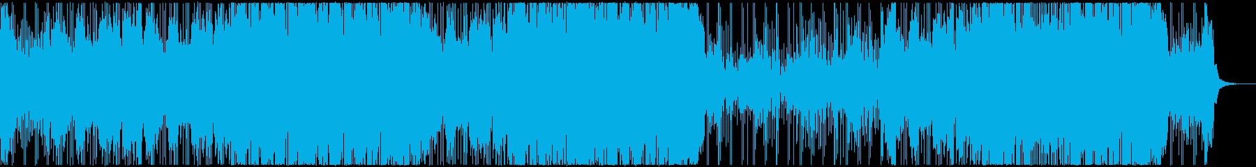 哀愁漂うインストミディアムバラードの再生済みの波形