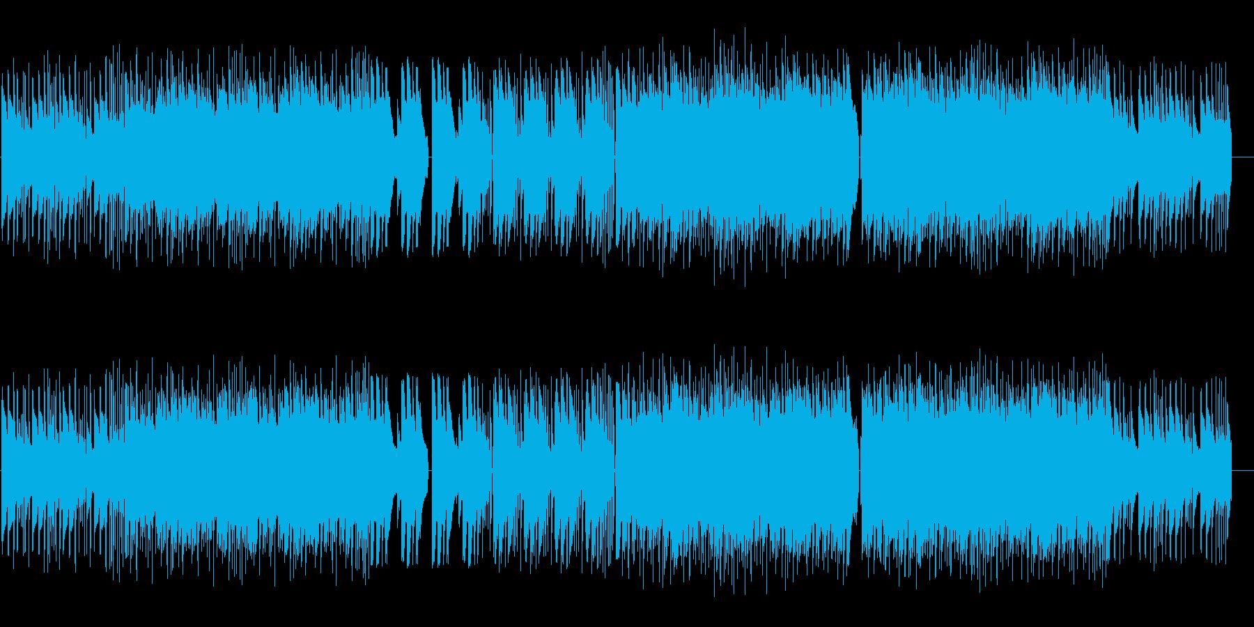 アコギ主体のゆったりしたインストの再生済みの波形