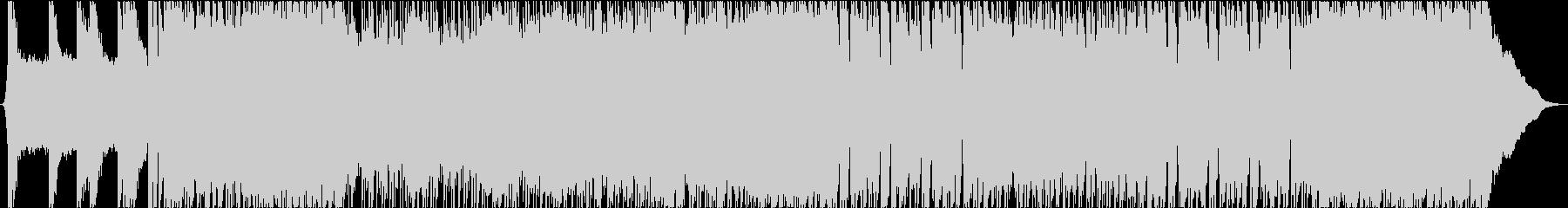 クールなヴィンテージロックの未再生の波形