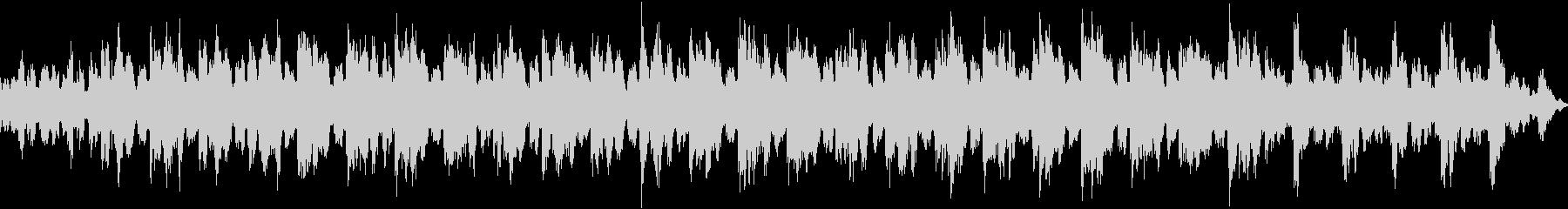 1音色のシンプルなポップスの未再生の波形