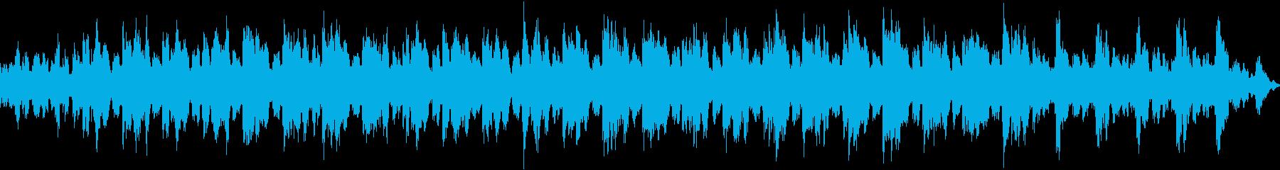 1音色のシンプルなポップスの再生済みの波形