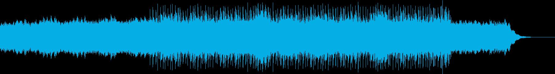 劇伴/幻想的でスローなエレクトロの再生済みの波形
