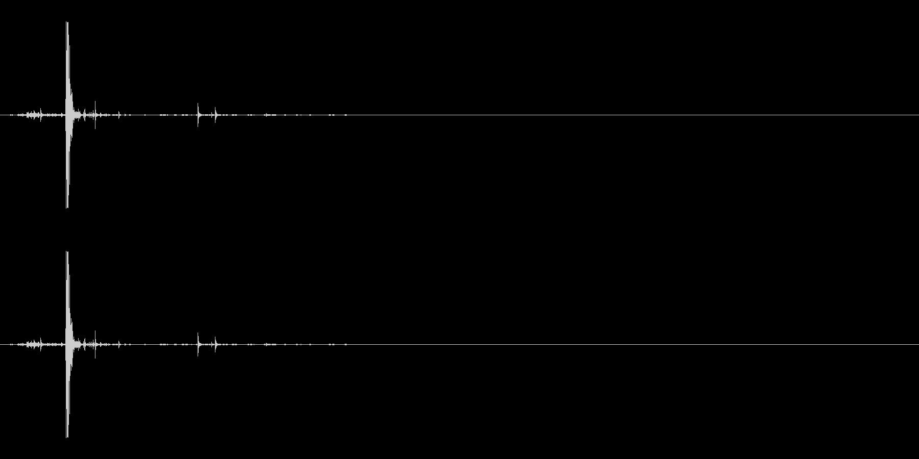カチャパリの未再生の波形