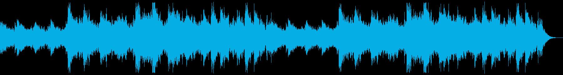 夜明け・朝焼けをイメージしたBGMの再生済みの波形