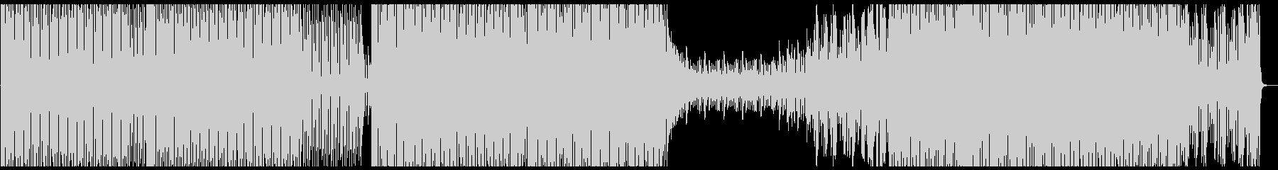 オシャレ・かっこいい系のハウス音楽の未再生の波形