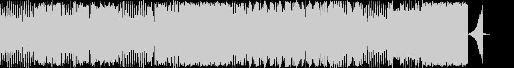 ブレイクコアなドラムソロの未再生の波形