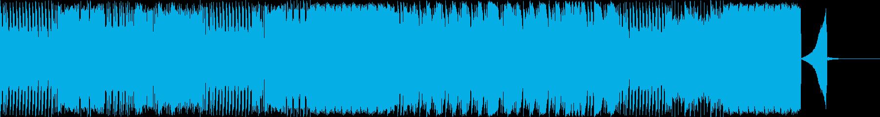 ブレイクコアなドラムソロの再生済みの波形