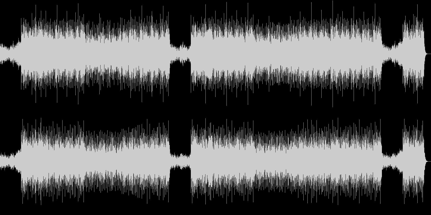 ヒップホップ系音楽の未再生の波形