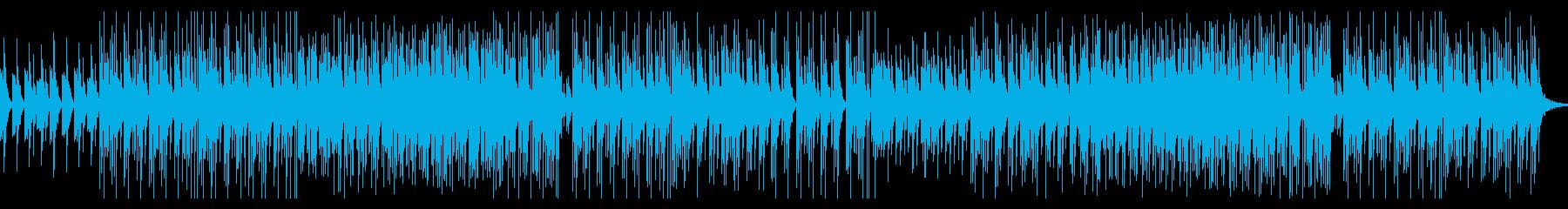 3拍子かわいい系テクノ・ポップの再生済みの波形