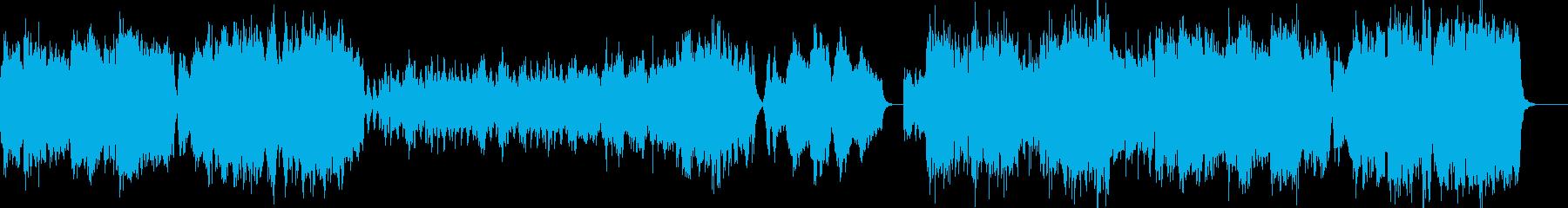 中世ヨーロッパの貴族を感じる弦楽四重奏の再生済みの波形
