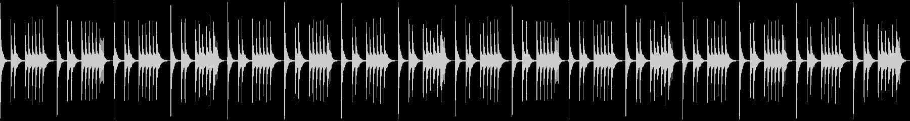 「いたずら、秘密、悪巧み」なBGMの未再生の波形
