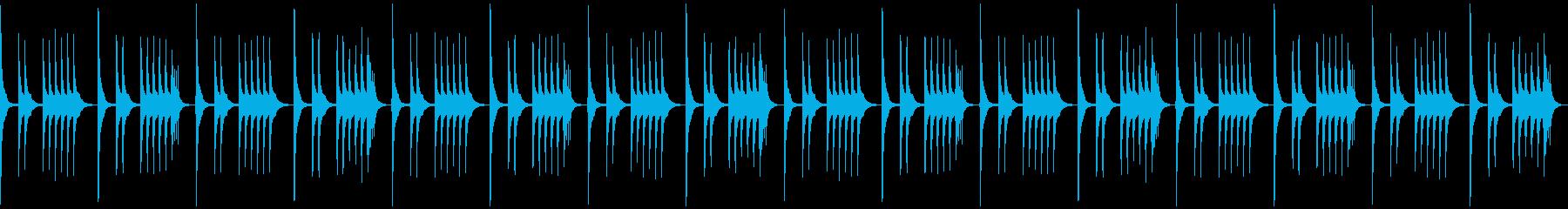 「いたずら、秘密、悪巧み」なBGMの再生済みの波形