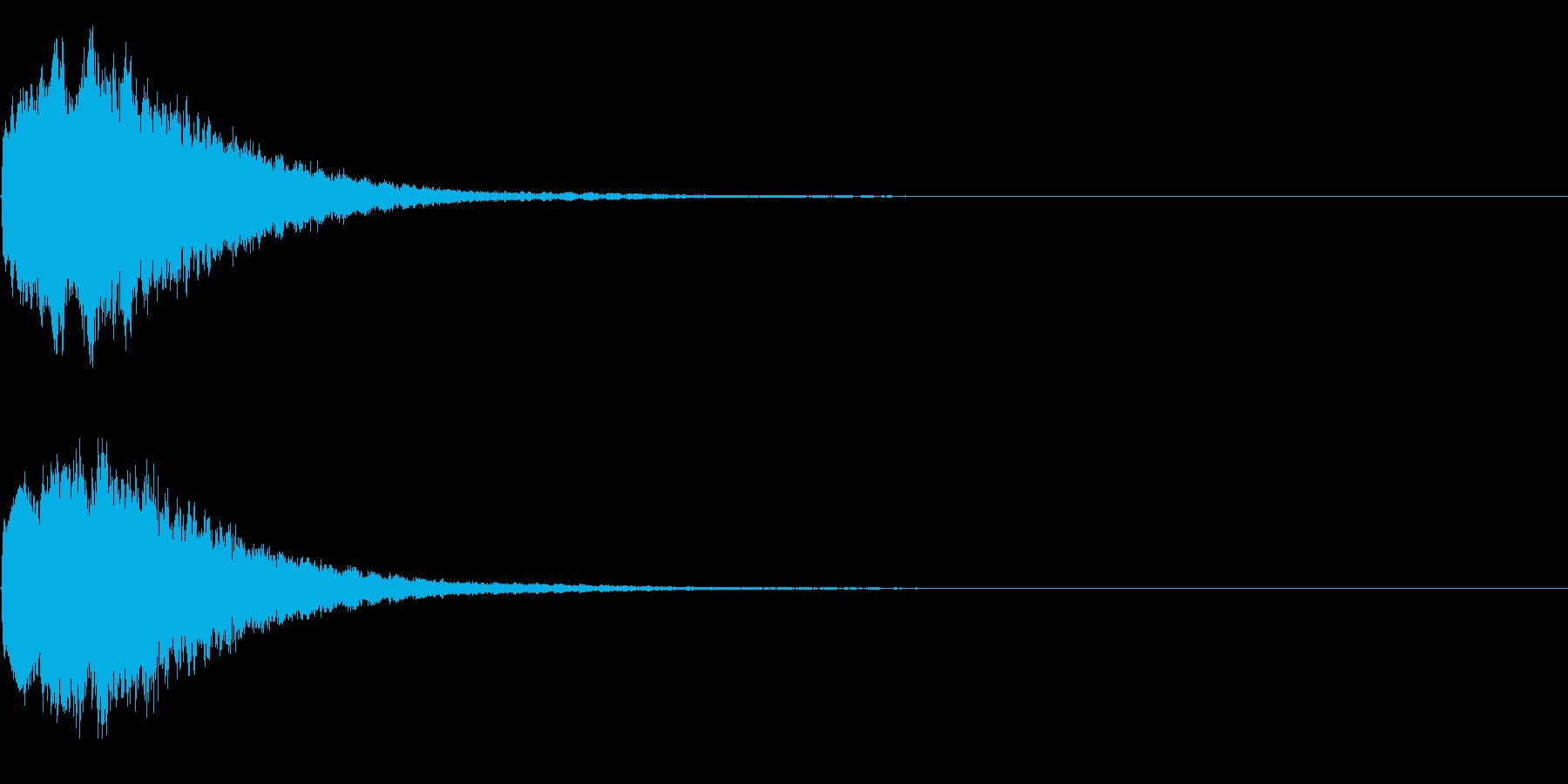 キラキラ シャキーン♪神聖な輝きに!02の再生済みの波形