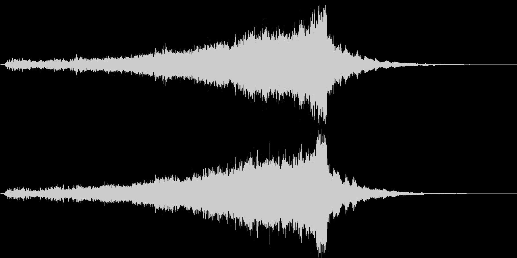 CINEMATIC RISER_08の未再生の波形
