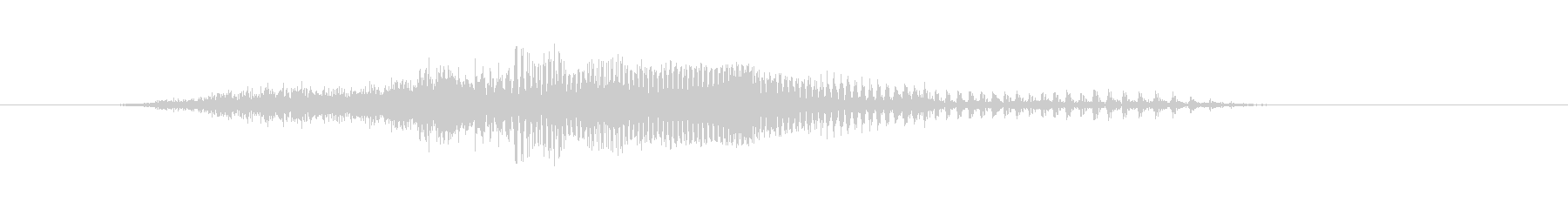 せいっ!! - 男性和風掛け声の未再生の波形