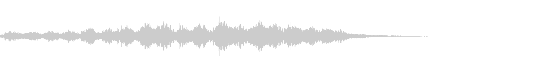 【SE 効果音】奇妙な音4の未再生の波形
