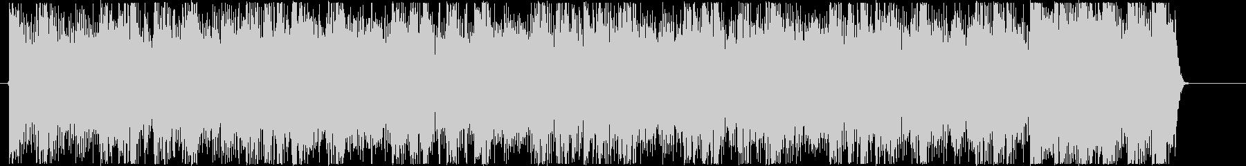 疾走感のあるハイテンポなデジタルロックCの未再生の波形