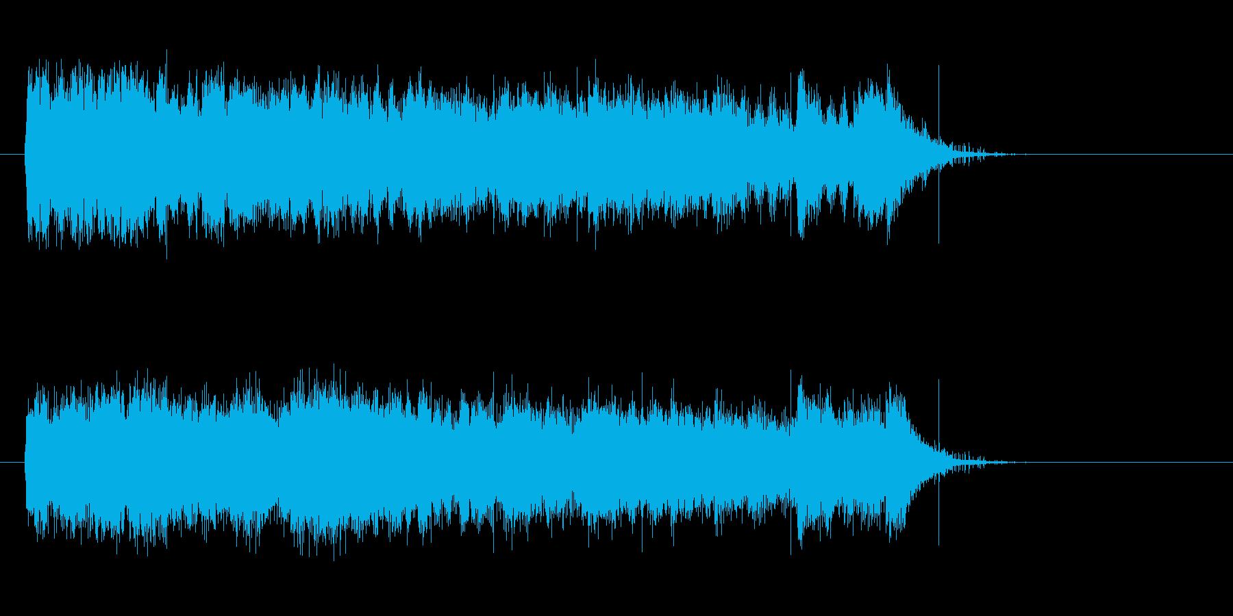 疾走感のある壮大な音楽の再生済みの波形