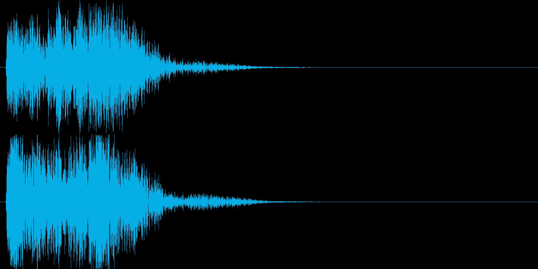 ゲーム、クイズ(不正解)_006の再生済みの波形