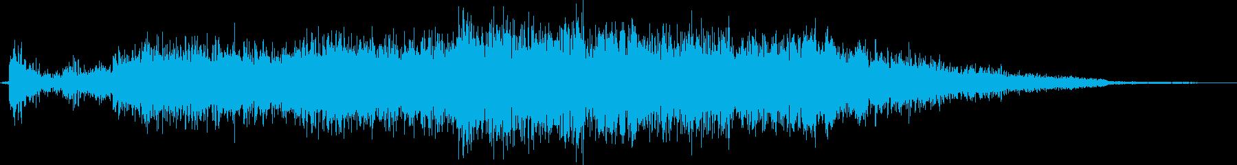 ヒューシューアウトを伴うデジタル障害の再生済みの波形