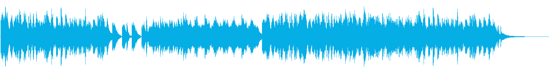暖かき過去の残滓の再生済みの波形