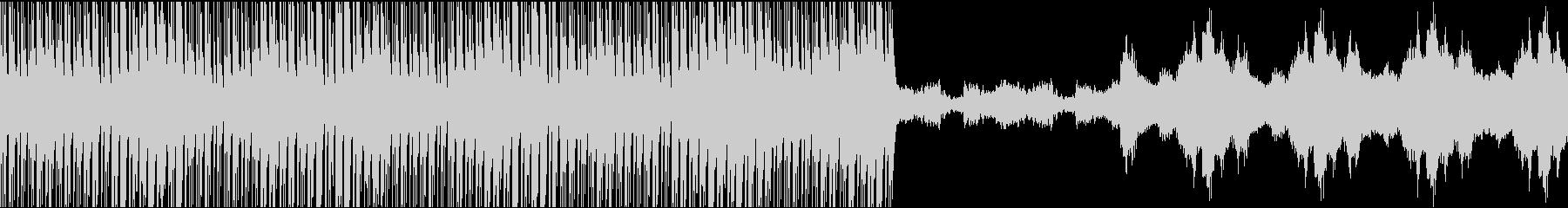 金属的・追跡者・不安感・インスト・ループの未再生の波形