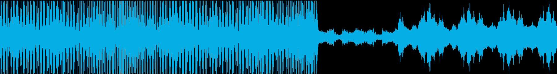 金属的・追跡者・不安感・インスト・ループの再生済みの波形