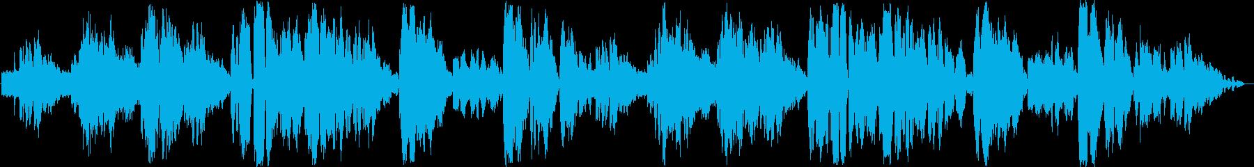 疾走感のあるナポリ民謡の再生済みの波形
