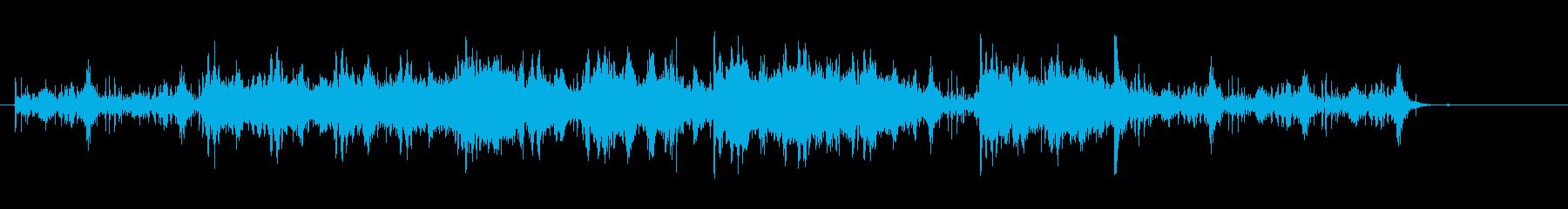 ボーンクランチングFXの再生済みの波形